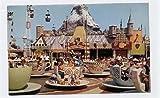 Disneyland Mad Tea Party Ride Postcard D-14