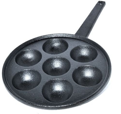 Cast Iron 7 Hole Egg Poacher Warrior Stoves