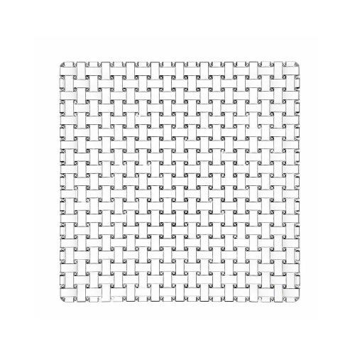 (Libbey Bossa Nova Plate Square, 11 inch - 6 per case.)