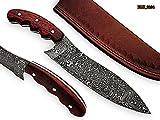 RK-2104 Style Damascus Steel Chef Knife – beutifull Mirindi wood Handle