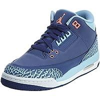baadb5abe95d Jordan AIR JORDAN 3 RETRO GG girls basketball-shoes 441140-506 9Y - DK  PURPLE