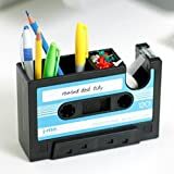 Useful Adgensive Tape holder Pen Holder Family Office Pencil Storage Box