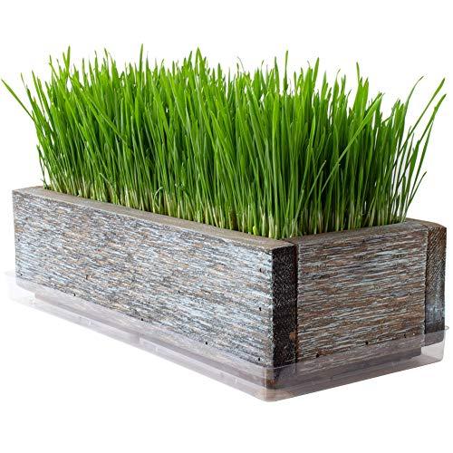 Reclaimed Barnwood Style Planter
