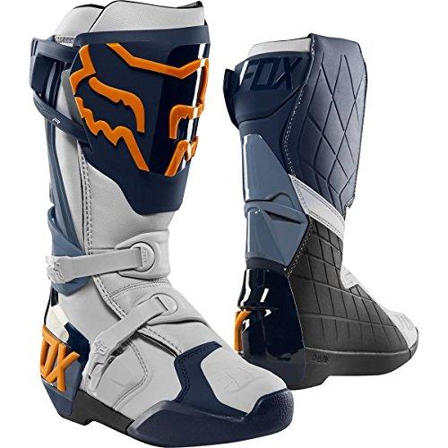 Fox Racing Comp R Men's Off-Road Motorcycle Boots - Navy/Orange / 10