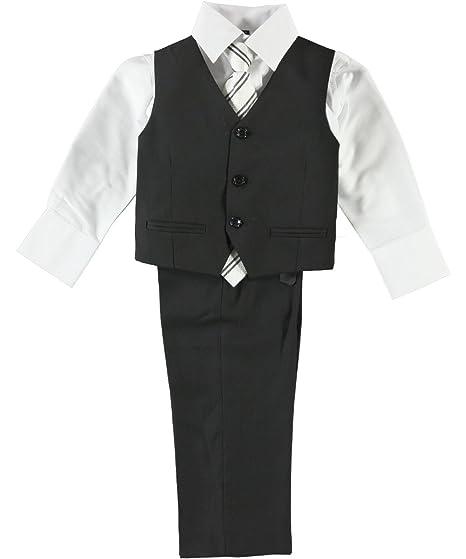 92ab63f439b46b Amazon.com  Boys  Classic Style Modern Fit Formal Dresswear 5-Piece ...