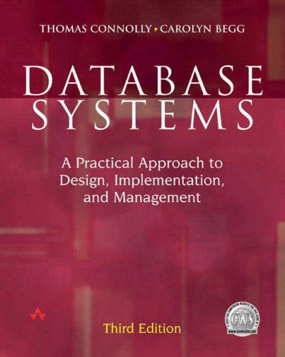 Database Systems and Principles of Database Systems with Internet and Java Applications (Database Systems Connolly)