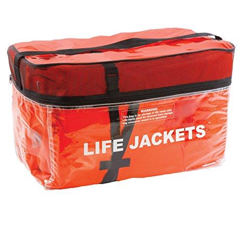 4 Adult Orange Keyholes in ClearStorage Bag
