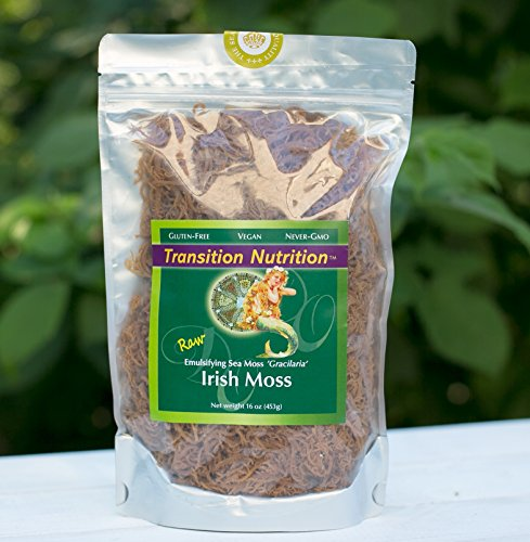 Fresh Leaf (Fresh Whole Leaf Irish Moss (Raw, Wildcrafted) 16 oz)