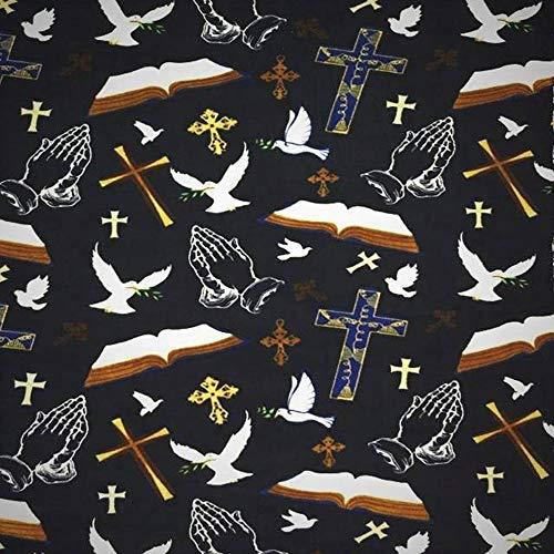 Christian Prayer Bible Fleece Fabric - 60