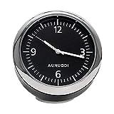 SQR CAR Reloj Digital para Coche Higrómetro Termómetro Estilo de Coche Decoración Adorno Mini automóvil Reloj de Auto de Cuarzo antiarañazos,CarClock