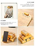 Mini Gold Bullion Magnets - Set Of 6 Paper Weight