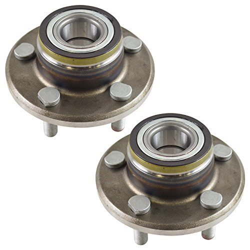 TRQ Front Wheel Hub & Bearing Pair for Challenger Charger Magnum 300C RWD 2WD by TRQ (Image #3)