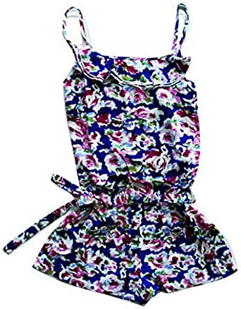 GIRLS SUMMER PLAYSUIT Romper Jumpsuit Summer Outfit Bodysuit Lightweight