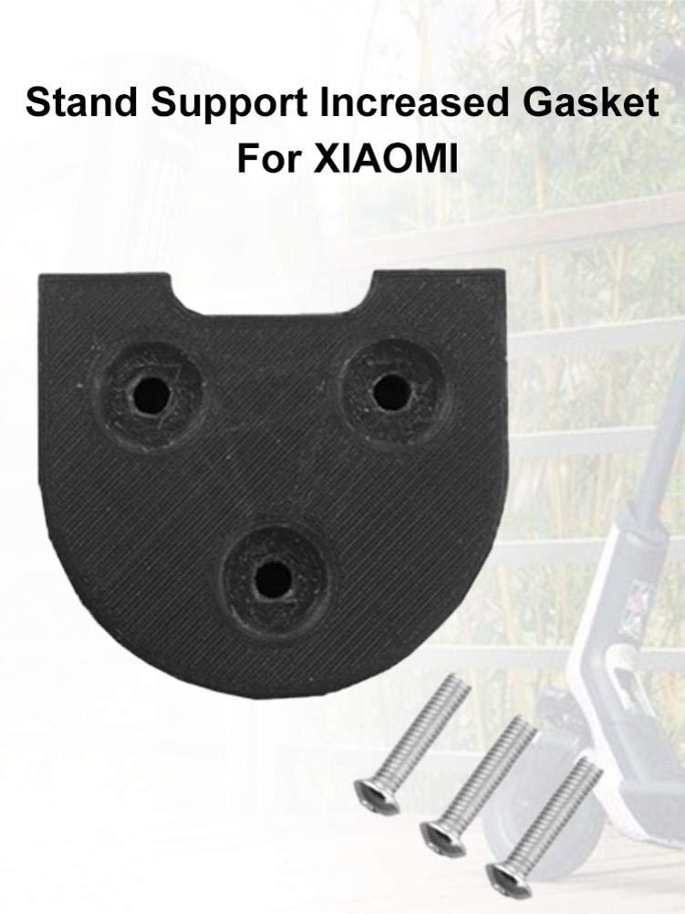 Noir Appui De Pied Accru Joints D/étanch/éit/é De Feu Arri/ère niyin204 Renfort De Joint Fixe pour Garde-Boue Universel pour Xiaomi M365 Scooter Pro