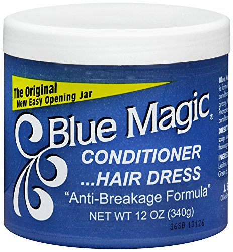 Blue Magic Conditioner Hairdress 12 Ounce Jar