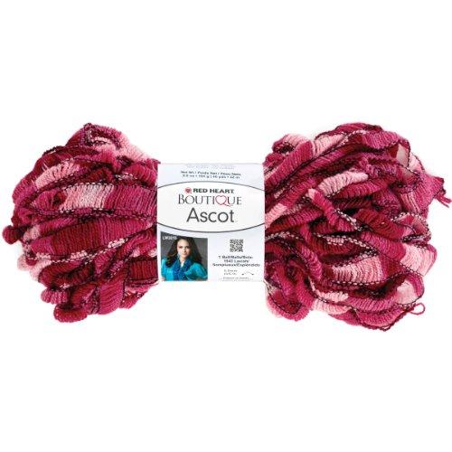 Red Heart Boutique Ascot Yarn-Froufou]()