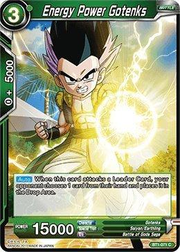 Dragon Ball Super TCG - Energy Power Gotenks - Series 1 Booster Galactic Battle - (Series 1 Booster: Galactic Battle) - BT1-071 -