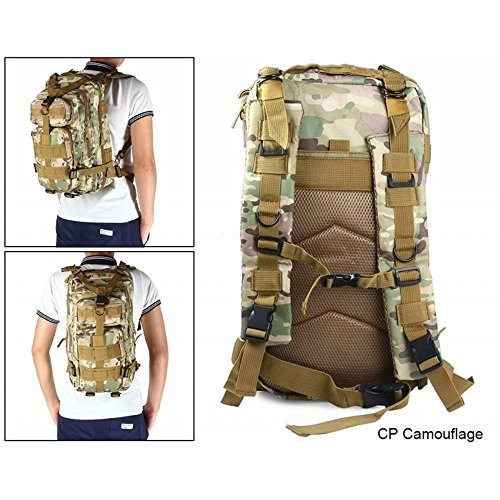 MOPS Tactical Backpack, 30L Military Waterproof Compact Shoulders Bag Rucksacks for Outdoor Camping Hiking Trekking For Sale