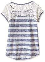 Beautees Girls' High Low Shirt with Neck...