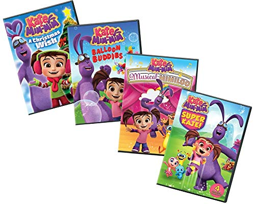 (Ultimate PBS Kate & Mim-Mim 4-DVD Learning Collection: A Christmas Wish / Balloon Buddies / Musical Mimiloo / Super Kate! [Kate and Mim Mim Educational)