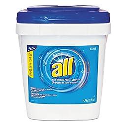 All 5729896 Purpose Powder Detergent, 32.5 lb. Tub