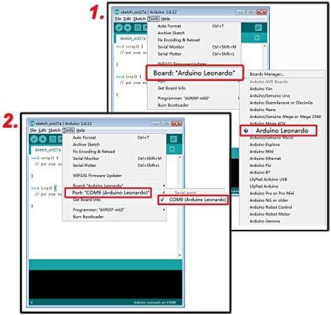 ARCELI Tarjeta de módulo Pro Micro ATmega32U4 5V / 16MHz con encabezado de Pin de 2 Filas para Arduino Leonardo Reemplace ATmega328 Pro Mini: Amazon.es: Electrónica