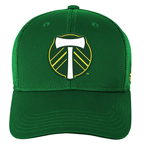 - Outerstuff MLS Portland Timbers R S8FDO Youth Boys Structured Flex Hat, One Size (8), Ponderosa
