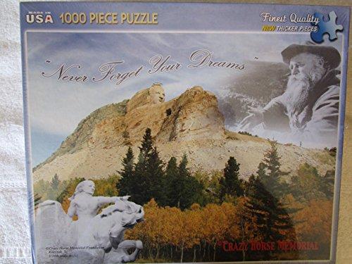 Crazy Horse Memorial Jigsaw Puzzle (Crazy Horse Dakota)