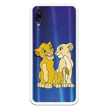 LA CASA DE LAS CARCASAS Fundas para Xiaomi Redmi Note 7 - Note 7 Pro (Simba y Nala)