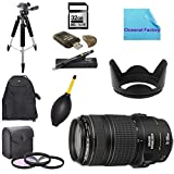 Deluxe Shooters Package for Canon REBEL SL1 Camera : Includes 1x Canon EF 70-300mm f/4-5.6 IS USM Lens for Canon EOS SLR Cameras, 1x Dust Cleaner Blower, 1x Ultra High Speed 32GB SDHC Memory Card, 1x USB SD Card Reader, 1x 3 Piece Filter Kit, 1x Lens Clea