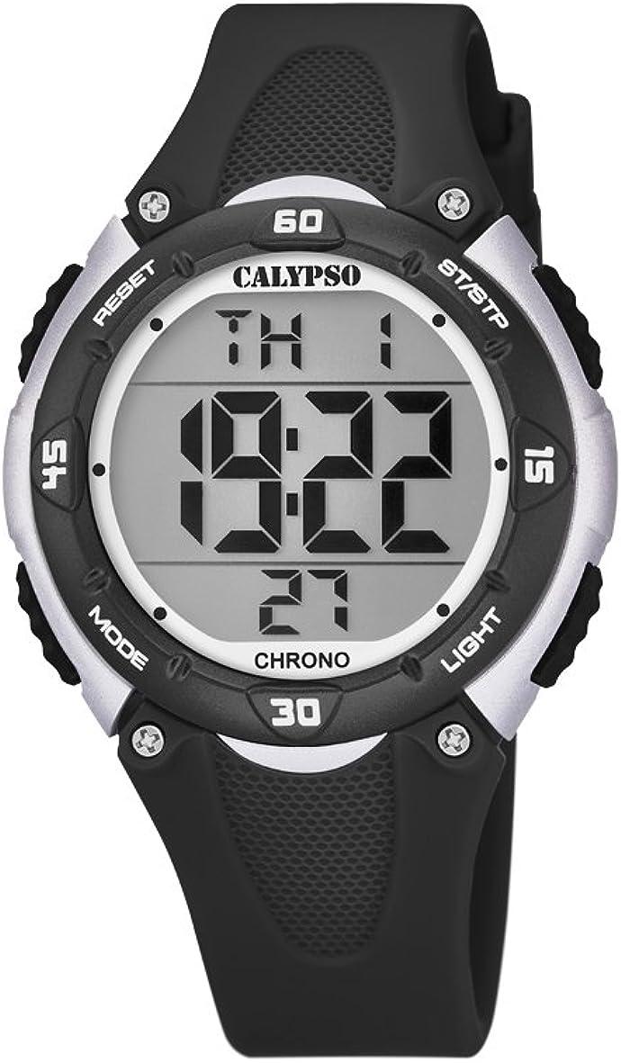 Calypso Reloj Digital para Unisex de Cuarzo con Correa en Plástico K5741/4