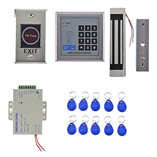 Dovewill 1 Set Door Security Lock Access Control Door Password System Power-on Locked by Dovewill