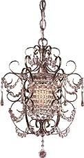 Minka Lavery 3121-333, 1 -Light Mini Chandelier, Westport Silver