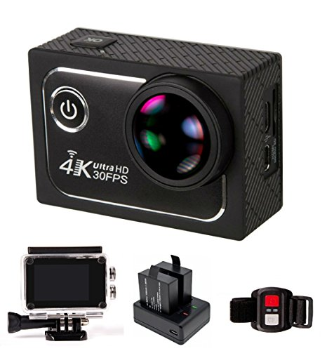 Big 173° Wide Angle Lens Ultra HD Wifi 4K Sport Action Came