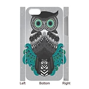 Dacase iPhone 4,4S Cover, Tribal Owl Custom 3D iPhone 4,4S Case