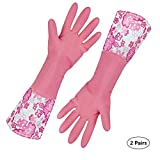 Finnhomy 31212 Cleaning Gloves with Soft Fiber Lining