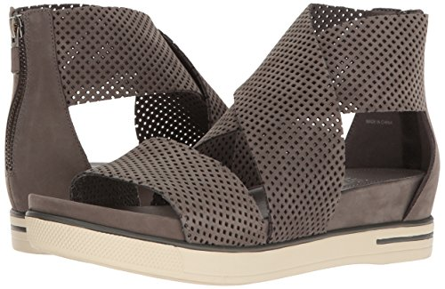Eileen Fisher Women's Sport2-Nu Flat Sandal, Graphite, 10 M US by Eileen Fisher (Image #6)