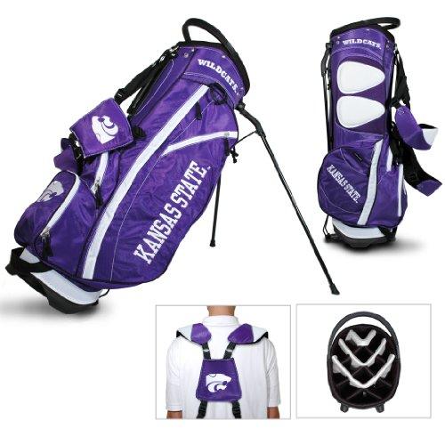 Team Golf Kansas State Wildcats Fairway Light 14-Way Top Golf Club Stand Bag