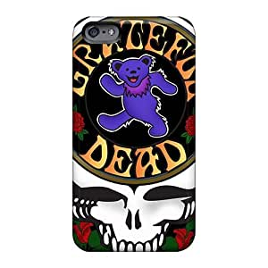 Bumper Cell-phone Hard Covers For Iphone 6 (Kje13632kWah) Customized Vivid Grateful Dead Image