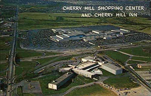 Cherry Hill Shopping Center and Cherry Hill Inn Cherry Hill, New Jersey Original Vintage - Shopping Center Hills Cherry