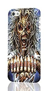 The 25 Best Iron Maiden Intros Pattern Image - Protective 3d Rough Case Cover - Hard Plastic 3D Case - For iPhone ipod touch4