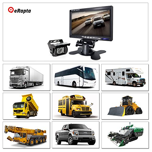 Camera and Car Monitor Camera Wired and Waterproof For Truck/Semi ...