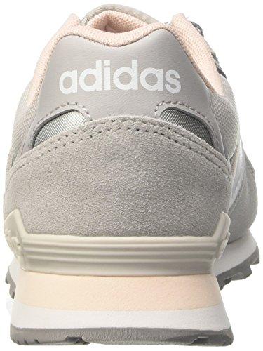 Adidas Damen 10k Sneaker Grau (grigio Due / Calzature Bianco / Rosa Ghiaccio)