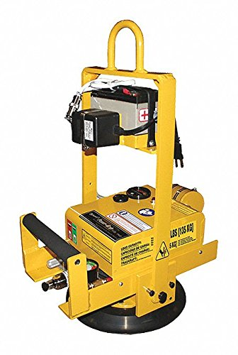 Horizontal Vacuum Lifter, 300 Max. Lift Load Cap. (Lb.) by Wood's Powr-Grip