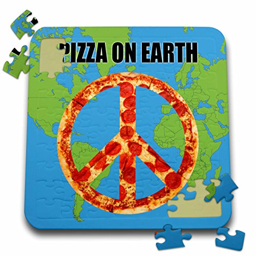 Tory Anne Collections Quotes - PIZZA ON EARTH - 10x10 Inch Puzzle (pzl_235499_2)