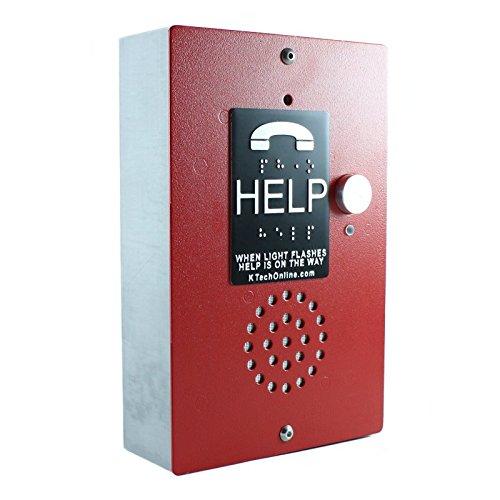 (K-Tech ET401A-3 Line Powered Emergency Phone: Sentry )