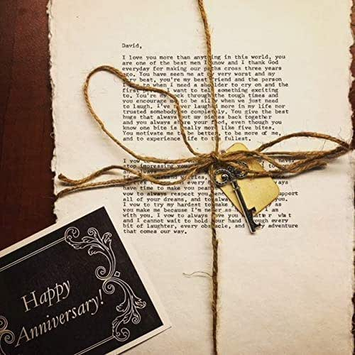 Cotton Wedding Anniversary Gifts For Him: Amazon.com: Personalized Typewriter Wedding Vows