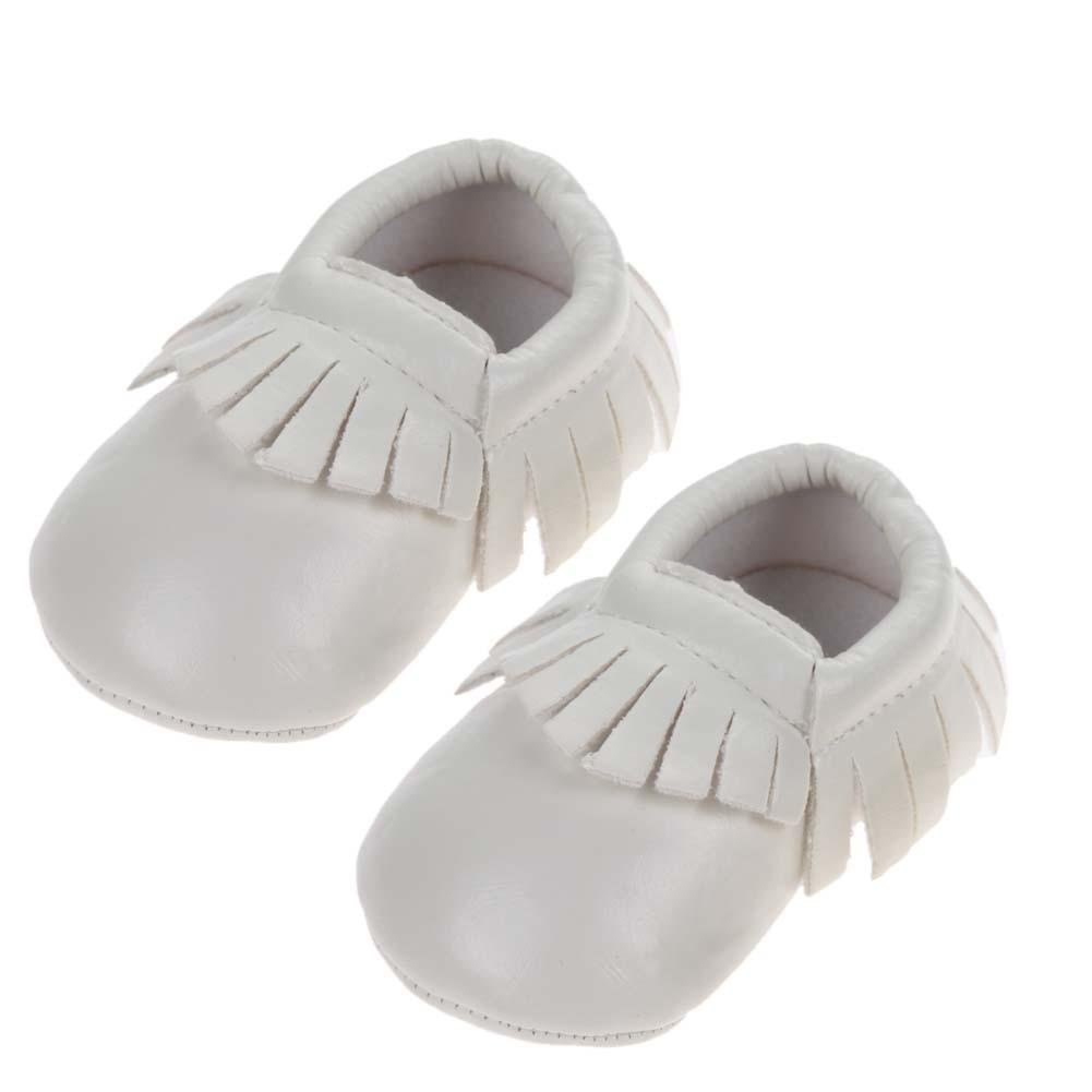 Everpert PU Leather Baby Shoes Newborn Shoes Soft Infants Crib Shoes