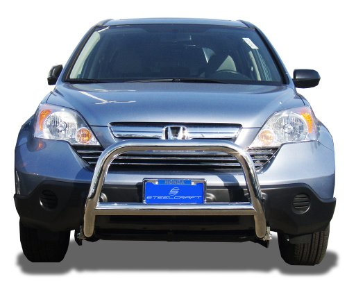 Steelcraft Stainless Steel Bumper Skid Plate Fits Brush Guard 07-13 HONDA CRV SPORT BAR S/S