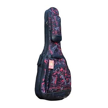 ... Estuche Transporte de Guitarra para 41/42 Pulgadas Acolchada Oxford Impermeable Funda de Guitarra Universal Funda Guitarra electrica: Amazon.es: Hogar
